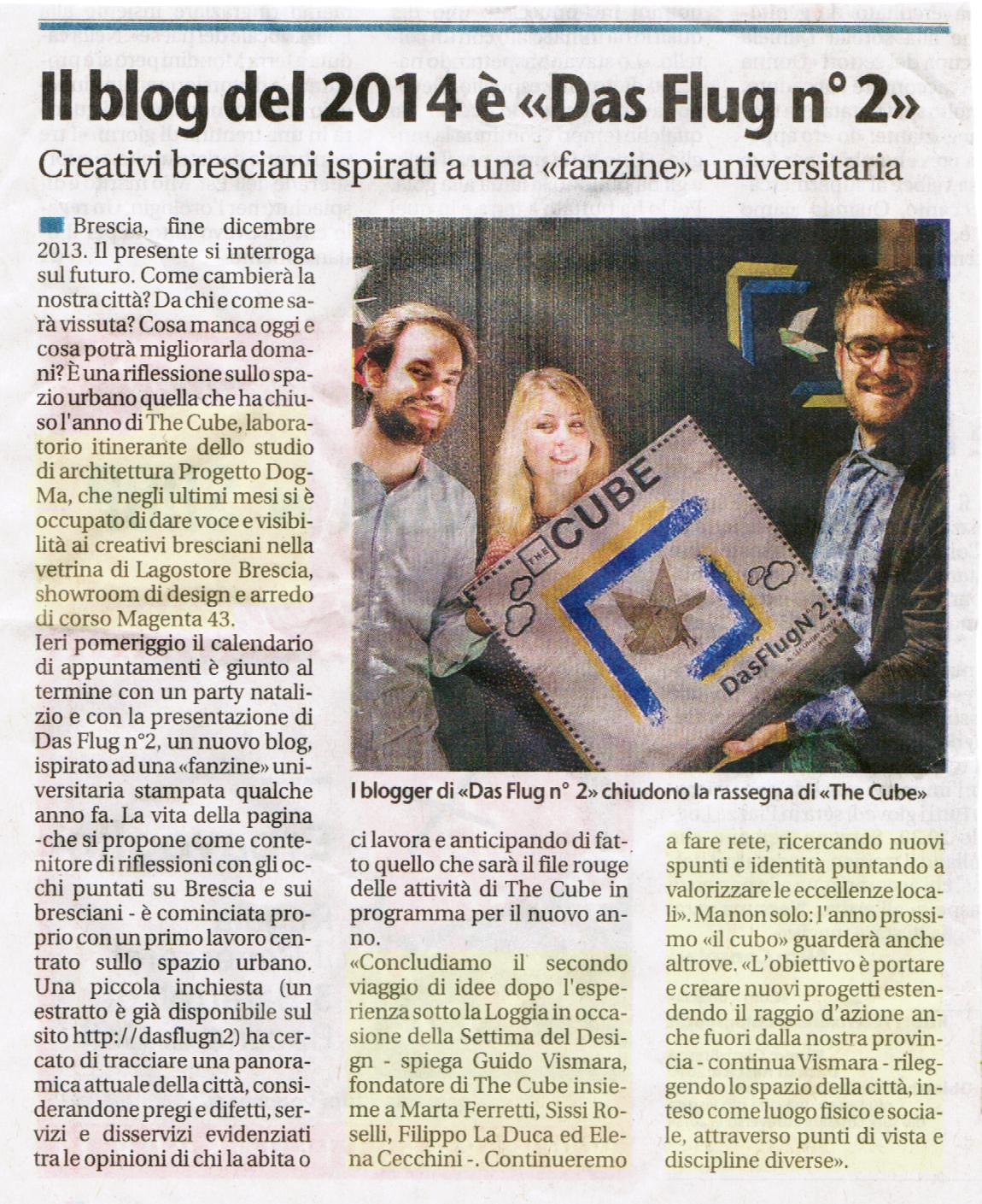THE CUBE - Giornale di Brescia