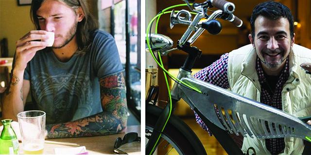 Marco Minoni - tatuatore e Marco Ribola - designer