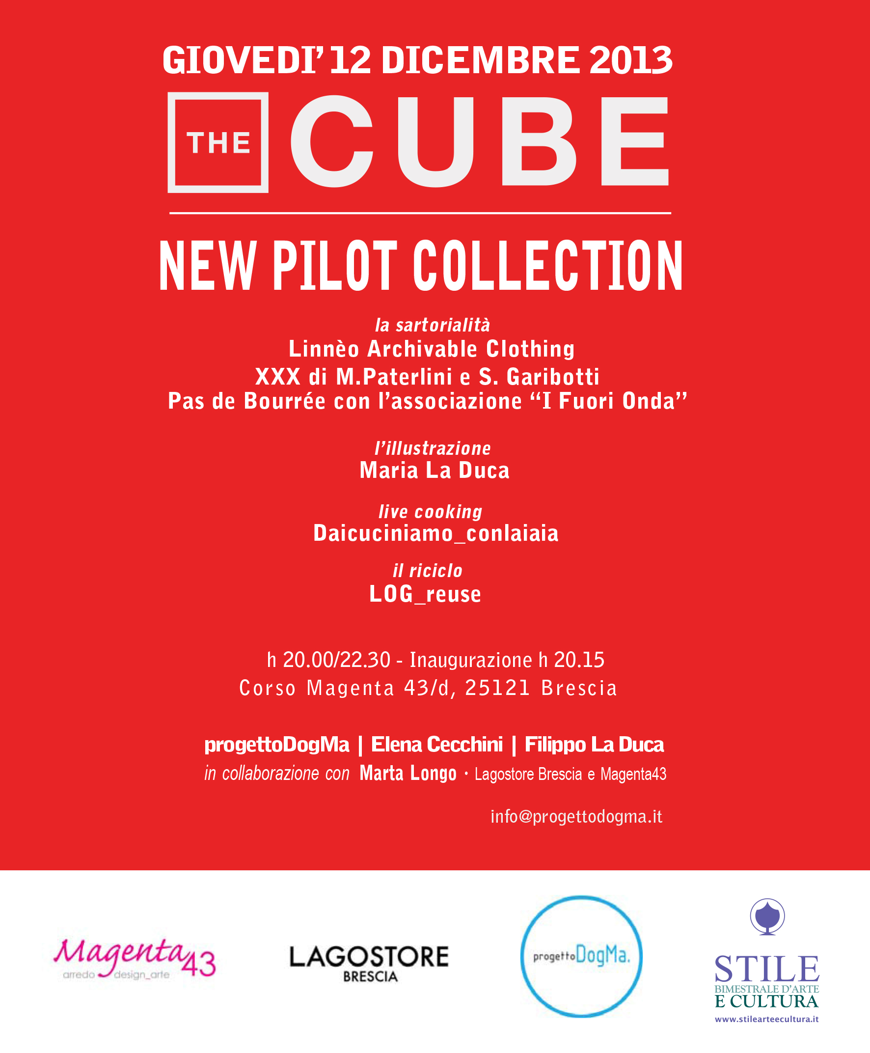 THE CUBE - New Pilot Collection