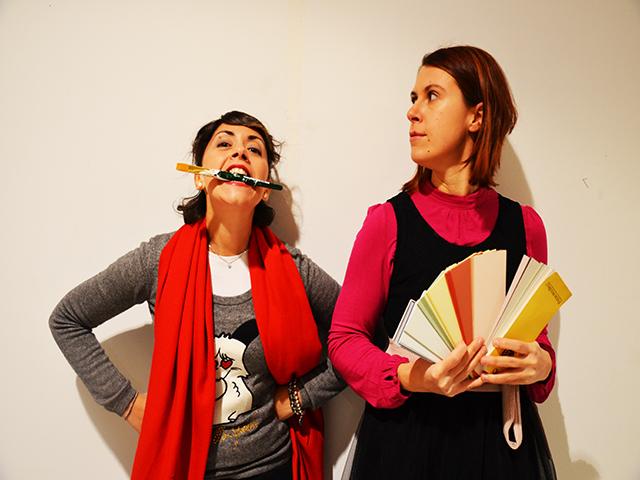 Chiara Bolometti e Francesca Vizzari