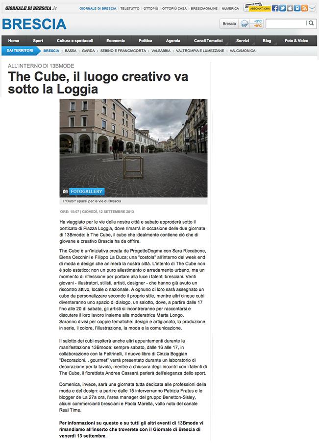 GDB.it - THE CUBE