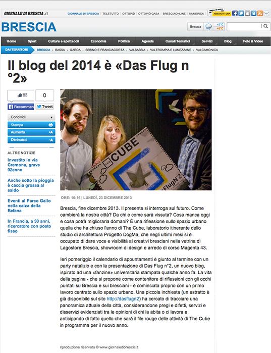 GDB - THE CUBE / DasFlug n°2