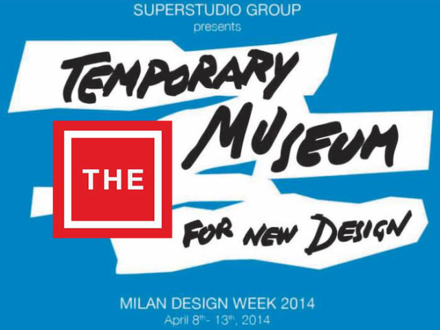 Superstudio Più – Temporary Museum for New Design 2014