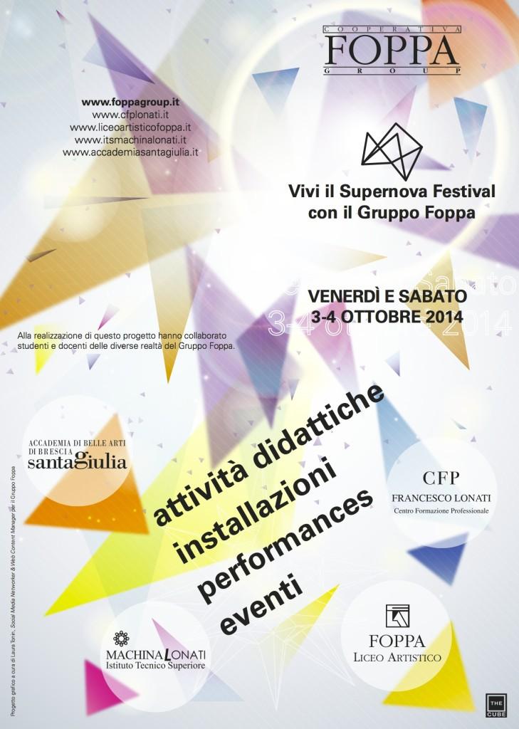 Supernova Festival - Gruppo Foppa - The Cube